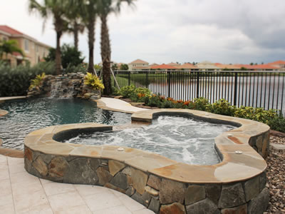 residential swimming pool in stuart, fl