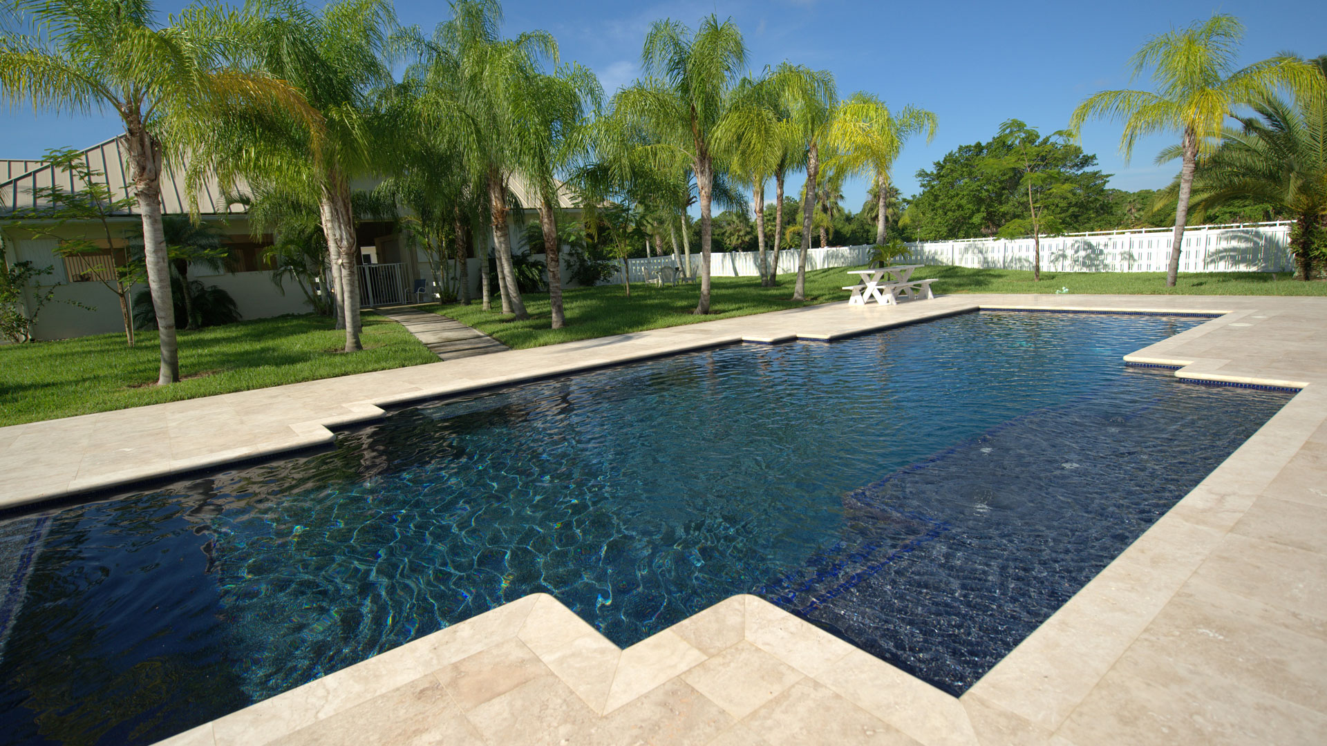 Beach Entry and Tropical Pools - pool-builder-stuart