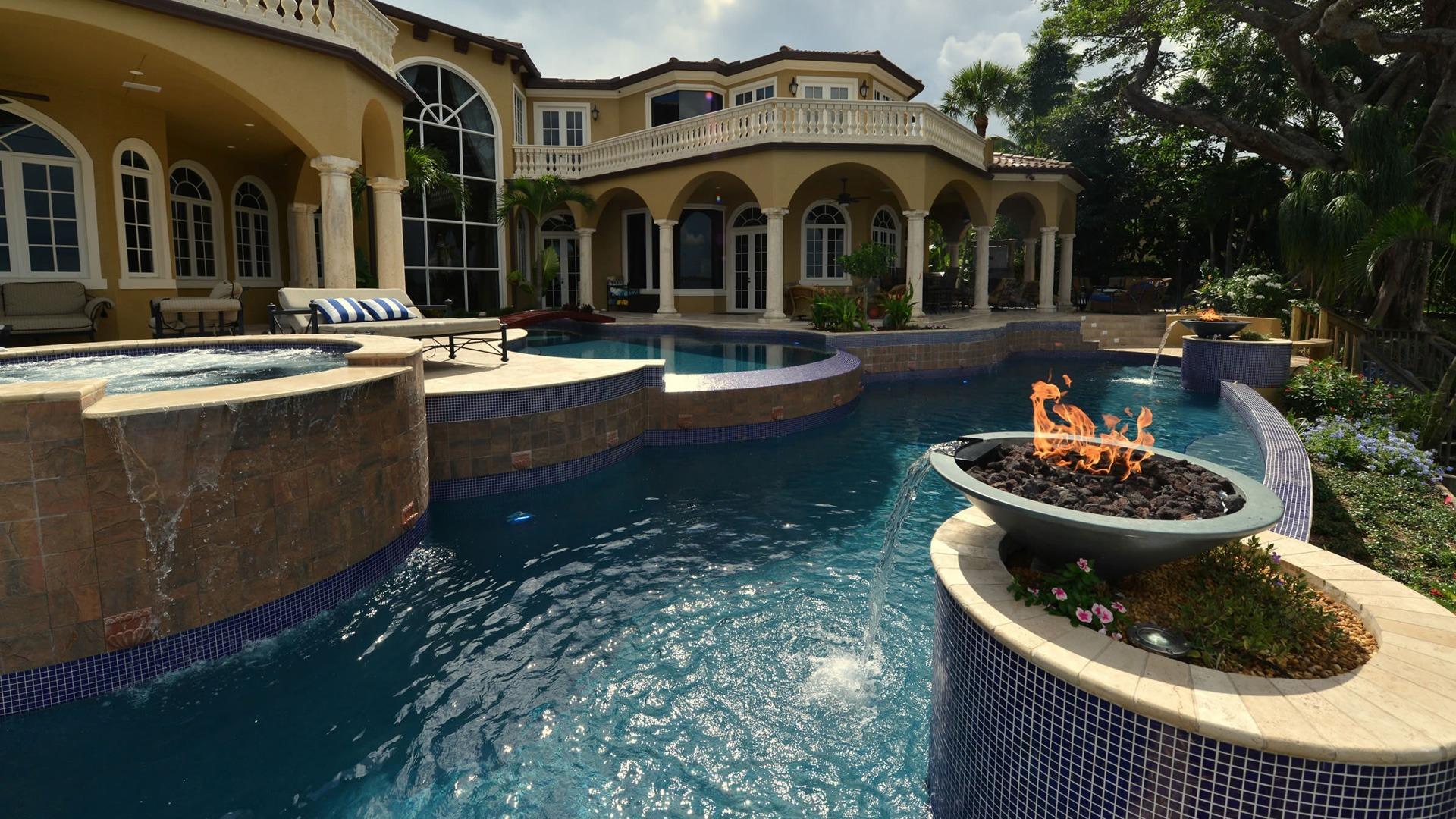 Competition, Lap, and Geometric Pools - pool-builder-stuart